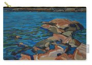 Red Rocks And Pooled Water Carry-all Pouch