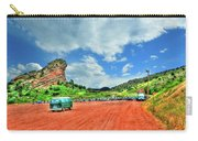 Red Rocks Hippie Van Carry-all Pouch