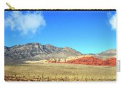 Red Rocks Nevada Panorama Carry-all Pouch
