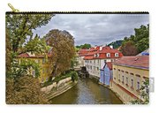 Red Roofs Of Prague Carry-all Pouch