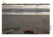 Red Rope On The Beach Carry-all Pouch