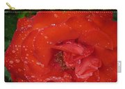 Red Rose After Rain Carry-all Pouch