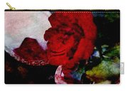 Red Rose And The Mirror Carry-all Pouch