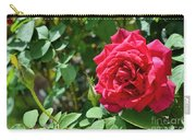 Red Rose Blooming Carry-all Pouch
