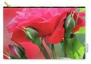 Red Rose Flower Carry-all Pouch
