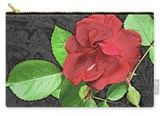 Red Rose For My Lady Carry-all Pouch