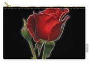 Red Rose II Carry-all Pouch