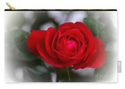 Red Rose Carry-all Pouch by Issabild -