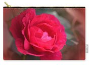 Red Rose Of May Carry-all Pouch