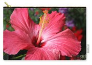 Red Rose Of Sharon  Carry-all Pouch
