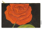 Red Rose, Oil Painting Carry-all Pouch