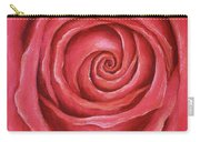 Red Rose Pastel Painting Carry-all Pouch