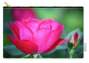 Red Rose Carry-all Pouch by Teresa Mucha