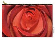 Red Rose Up Close Carry-all Pouch