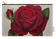 Red Rose Carry-all Pouch