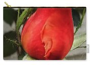 Red Rosebud  Carry-all Pouch
