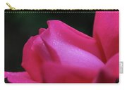 Red Rosebud Raindrops Carry-all Pouch