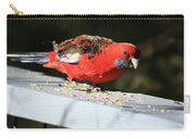 Red Rosella Carry-all Pouch