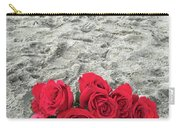 Red Roses Beachside Carry-all Pouch