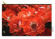 Red Roses Botanical Landscape 1 Red Rose Giclee Prints Baslee Troutman Carry-all Pouch