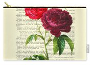 Red Roses For Valentine Carry-all Pouch