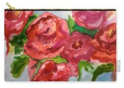 Red Roses, Red Roses Carry-all Pouch