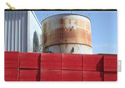 Red Rust And Blue Carry-all Pouch