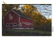 Red Rustic Barn Carry-all Pouch