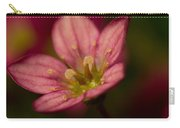 Red Saxifraga Carry-all Pouch