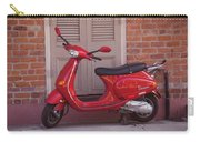 Red Scooter Carry-all Pouch