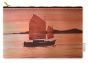 Red Sea With Chinese Boat Carry-all Pouch