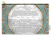 Red See Ketubah Carry-all Pouch