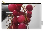 Red Seedless Grape Cluster Carry-all Pouch