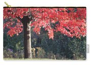 Red Shade Tree Carry-all Pouch