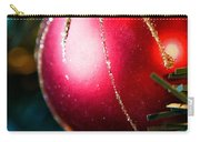 Red Shiny Ornament Carry-all Pouch