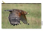 Red-shouldered Hawk Flight Carry-all Pouch
