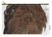 Red Shouldered Hawk Portrait Carry-all Pouch