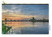 Red Skies Over Kinderdijk Carry-all Pouch