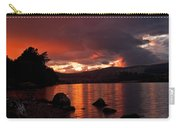 Red Skies Over Loch Rannoch Carry-all Pouch
