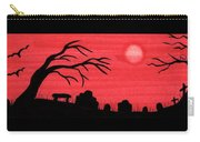 Red Sky Cemetery Carry-all Pouch