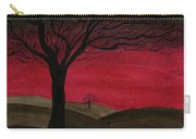 Red Sky - Dark Hills Carry-all Pouch