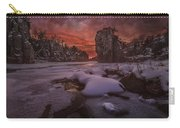 Red Sky, King Rock  Carry-all Pouch