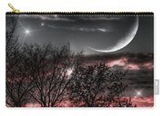 Red Sky Moon Carry-all Pouch