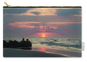 Red Sky Sun Rise Carry-all Pouch