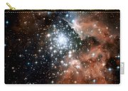 Red Smoke Star Cluster Carry-all Pouch