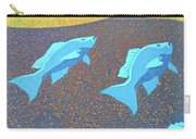 Red Snapper Inlay On Alabama Welcome Center Floor - Color Invert Carry-all Pouch