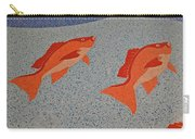 Red Snapper Inlay On Alabama Welcome Center Floor Carry-all Pouch