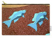 Red Snapper Inlay Sunny Day Invert Carry-all Pouch