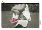 Red Sneakers Quote Carry-all Pouch