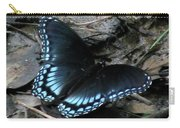 Red Spotted Purple Swallowtail Butterfly Carry-all Pouch